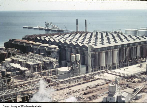 Mining and Energy Western Australia · Alcoa Kwinana refinery